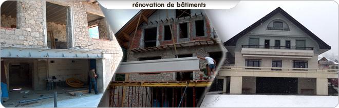 Rénovation maison, batiment